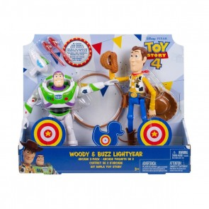 Toy Story 4 Woody & Buzz Lightyear action figure