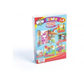 Birthday Countdown Calendar 10 Reward Toys