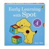 Early Learning With Spot - 4 Baby Board Books