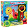 Sesame Street Book and Magnifying Glass Explore With Elmo