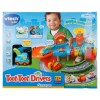 VTech Toot Toot Drivers Garage Pretend Play with 1 V-Tech Tow Truck Car Toy