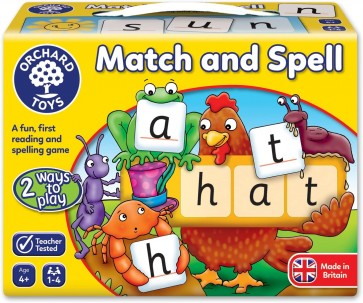 Orchard Toys Learning Match and Spell