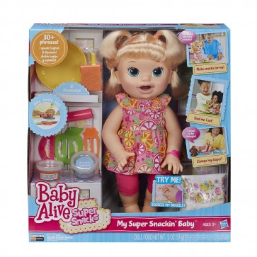 Baby Alive Baby Doll talking