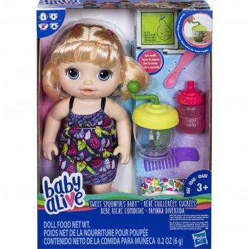 Baby Alive Sweet Spoonfuls Baby Girl - Blonde
