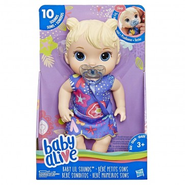 baby alive doll talk sounds