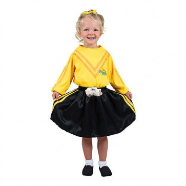 The Wiggles Emma Yellow Dress Up Costume
