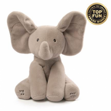 flappy elephant animated plush by gund