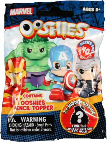 ooshies marvel pencil topper blind bag