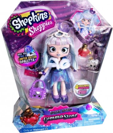 Shopkin Gemma Stone Doll Opaletta