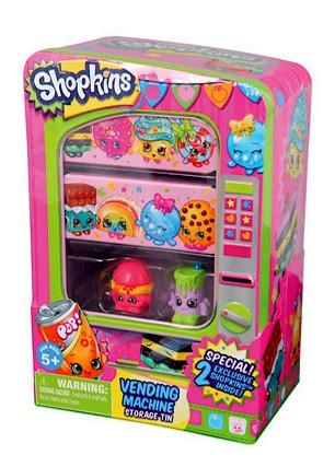 Shopkins Vending Machine Storage Tin A