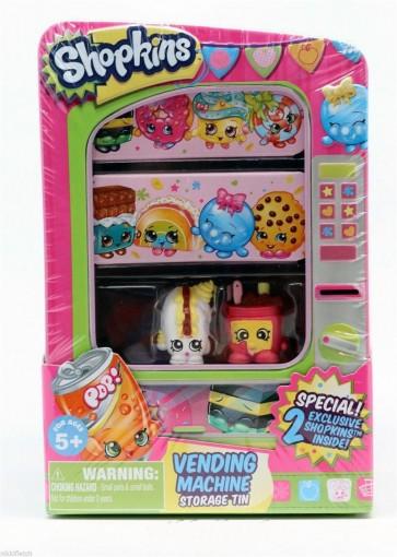 Shopkins Vending Machine Storage Tin B