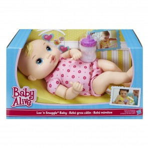 Baby Alive Luv N Snuggle Doll