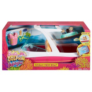 Barbie Doll Boat Toy