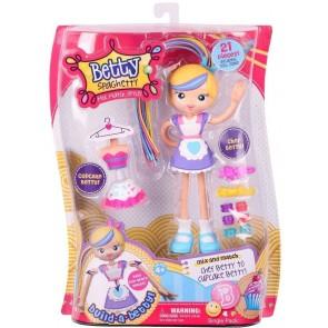 Betty Spaghetty chef betty doll cupcake