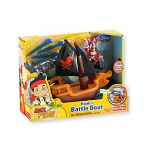 Captain Hook pirates boat