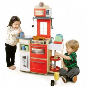 Little Tikes Cook Store Pretend Kitchen Red