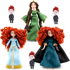 BRAVE Merida Disney Mini Doll Set