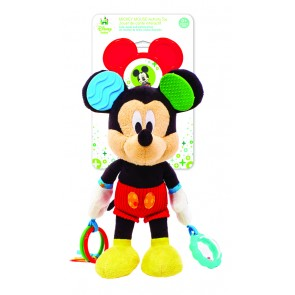 Mickey Mouse baby Toy Rattle Plush