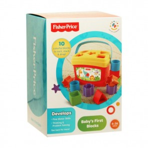 fisher price baby learning blocks