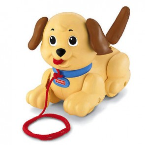 fisher price snoopy dog puppy pull along toys