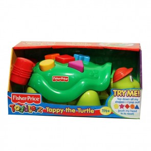 FISHER PRICE - TODDLERZ TAPPY THE TURTLE