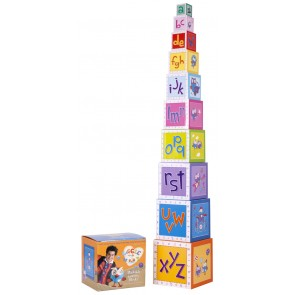 Giggle and Hoot Stackable Learning Blocks