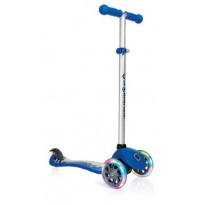 globber my free fantasy 3 wheel scooter blue