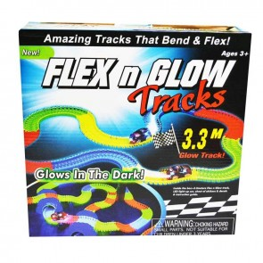 Flex n Glow Track Set Glow in the Dark