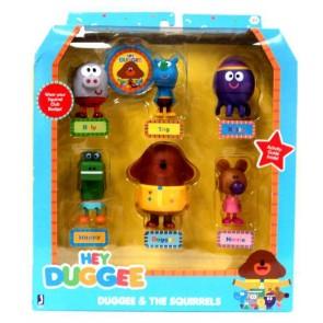 Hey Duggee 6 Piece Duggee & The Squirrels