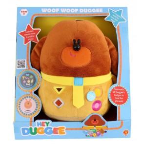 hey duggee woof woof soft toy plush sound