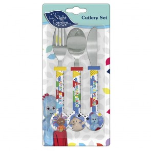 in the night garden kids spoon fork