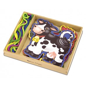 Lace & Trace Farm Animals melissa and doug craft