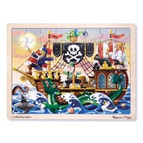 melissa and doug Pirate ships Jigsaw puzzles