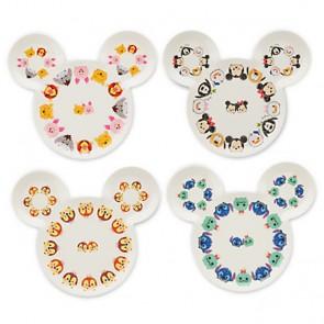 disney Mickey Mouse Tsum Tsum Plate Set