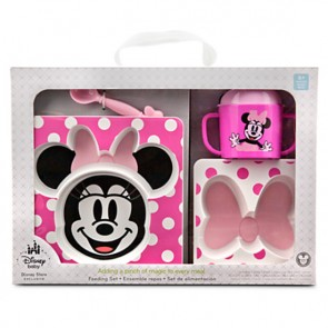 Minnie Mouse Feeding Set for Baby