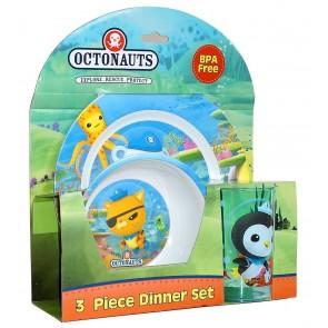 Octonauts 3pc children Dinner Set