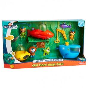 Fisher Price Octonauts GUP Fleet Mega Pack Toy