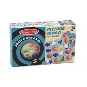 melisa doug Press and Spin bingo game