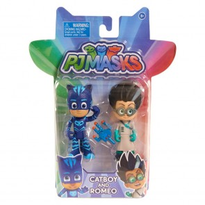 PJ Masks Figure Pack Catboy and Romeo