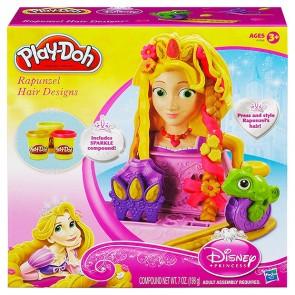 Play-Doh Rapunzel Hair Designs