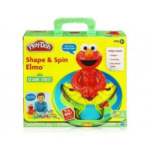 Play-Doh Shape & Spin Elmo sesame street