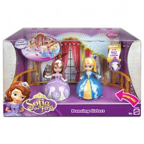 Princess Sofia the first Dancing Sisters Amber figure