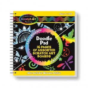 Scratch Magic Doodle Book