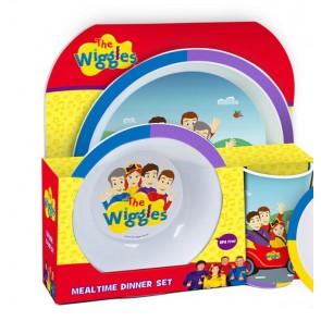 THE WIGGLES kids DINNER SET