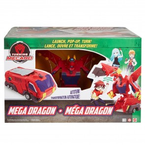 Turning MeCard animal Mega Dragon