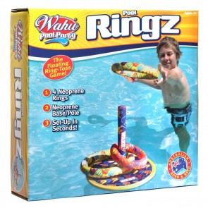 WAHU Pool Party Ringz Floating Swimming Ring
