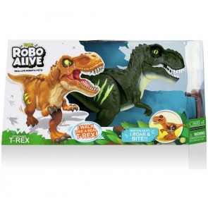zuru robo alive trex dinosaurs