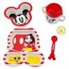 Disney Mickey Mouse Feeding Set Baby Gift Bpa Free