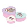 Pusheen Mini Storage Heart Shaped Boxes